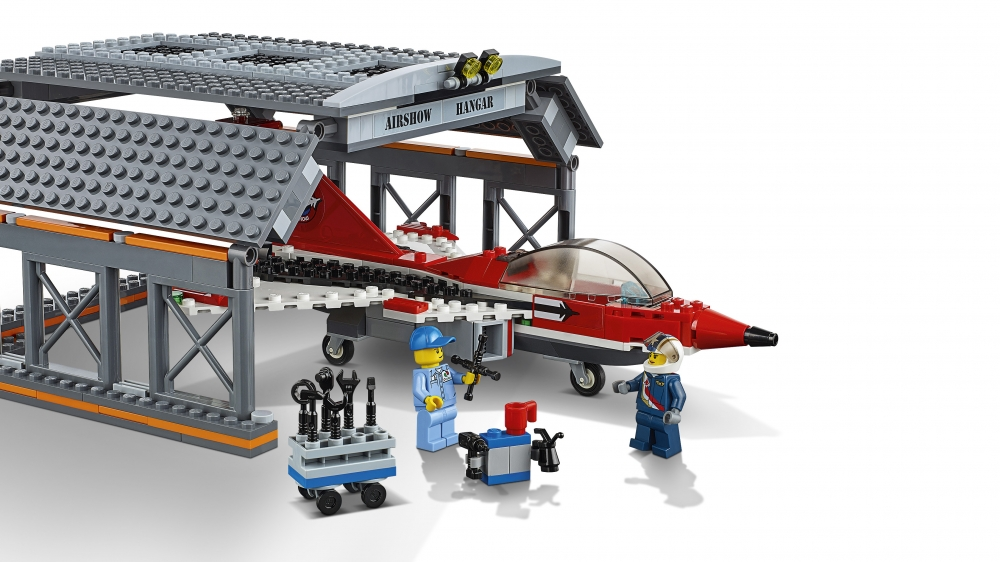 LEGO City Lennujaama õhuetendus