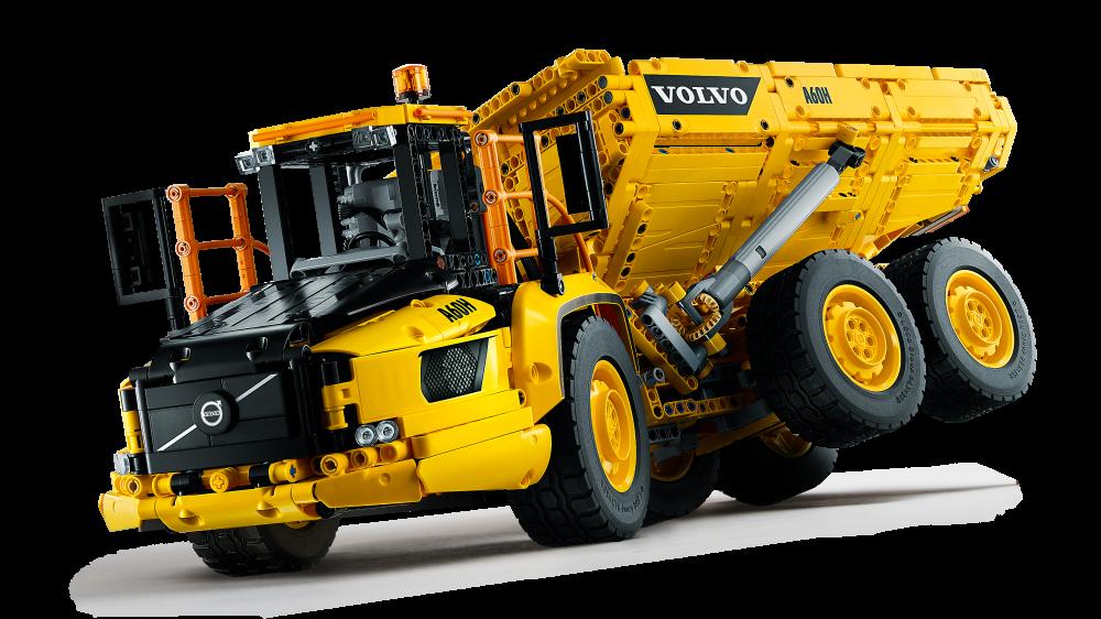 LEGO Technic 6x6 Volvo liigendkallur