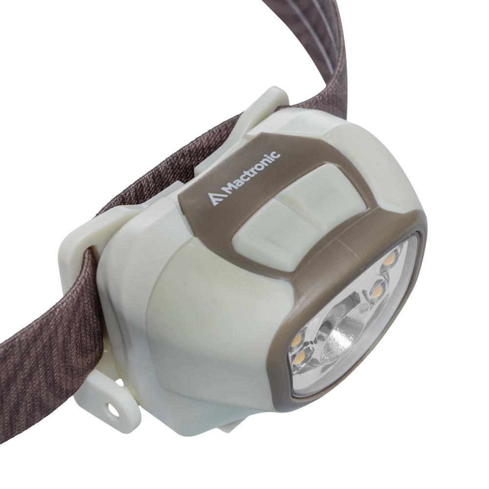 Mactronic AHL0014 Nippo 3.3 RC pealamp ADS/ Advanced Dimming System, külm ja soe valgus, 330lm, microUSB, Li-ion aku 3.7V 1200mAh