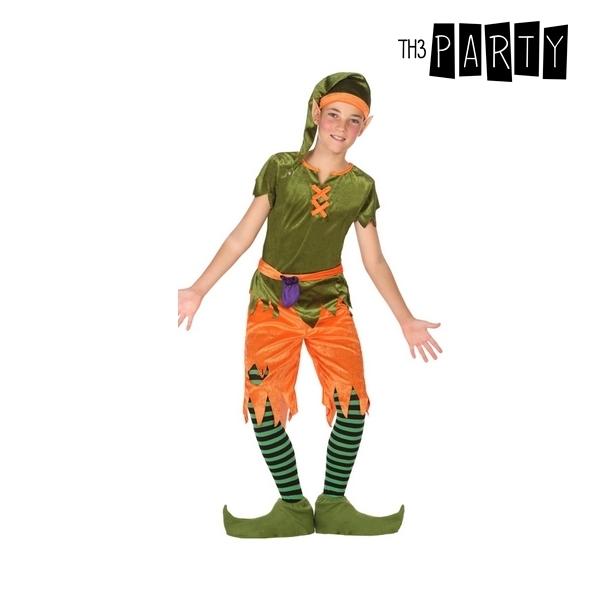 Maskeraadi kostüüm lastele Mäekoll Roheline Oranž (6 Pcs)