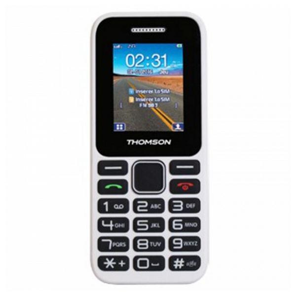 Mobiiltelefon vanematele inimestele Thomson TLINK11WHT Valge