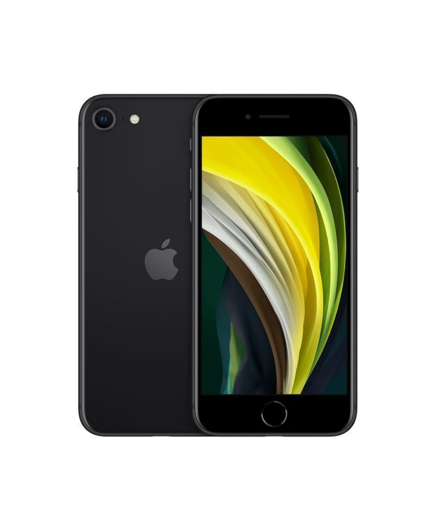 MOBILE PHONE IPHONE SE (2020)/128GB BLACK MXD02ZD/A APPLE