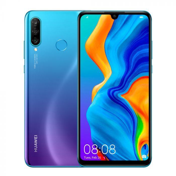 MOBILE PHONE P30 LITE 128GB/PEACOCK BLUE 51093NPP HUAWEI