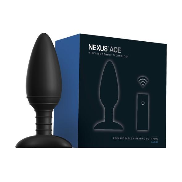 Nexus - Ace Remote Control Vibrating Butt Plug L