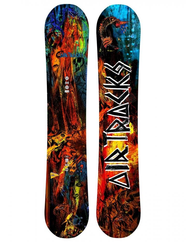 No Fears Carbon Snowboard Rocker