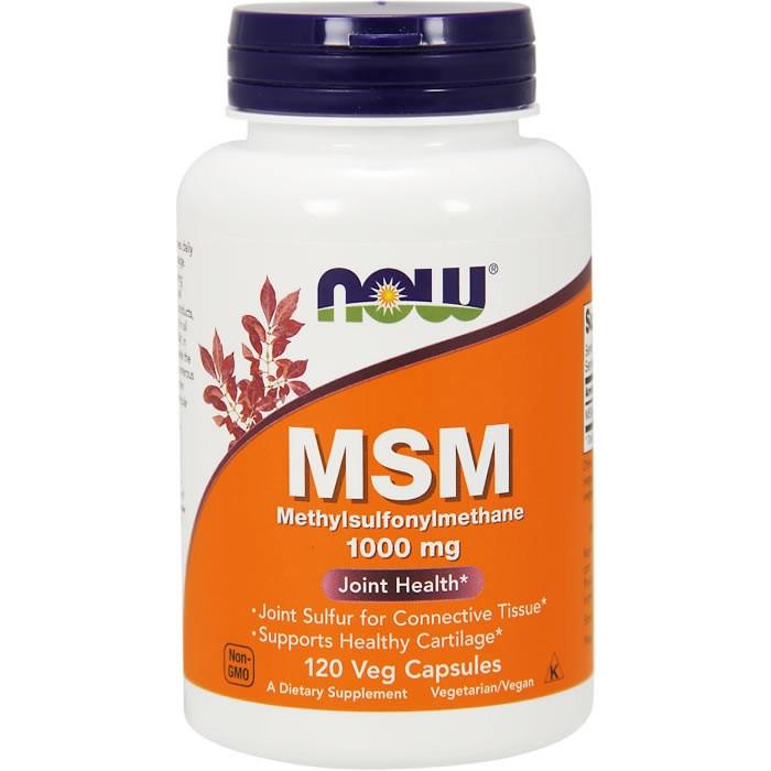 NOW MSM 1000 mg kapslid (120 tk)