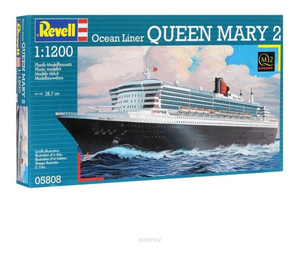 OceanLiner QUEEN MARY 2 Scale: 1:1200