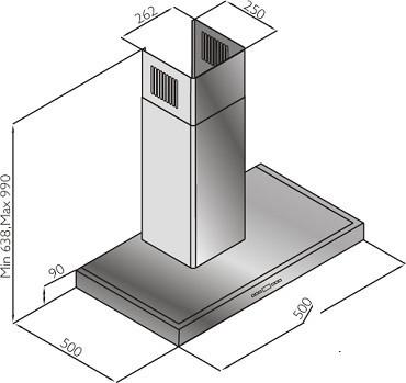 Õhupuhastaja Schlosser H02E50X/580