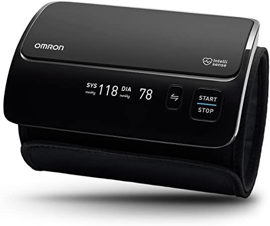 Omron Evolv All-in-One, digitaalne õlavarre vererõhuaparaat HEM-7600T-E, Juhtmevaba, Must