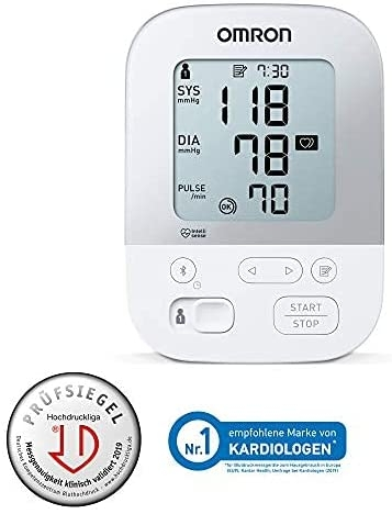 Omron X4 Smart õlavarre vererõhumõõtja