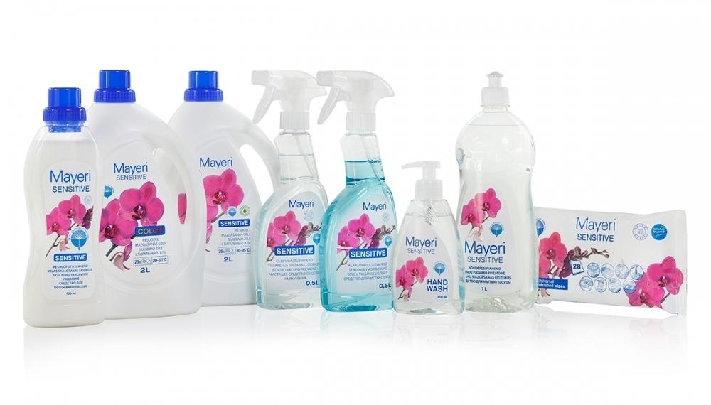 Pesu- ja puhastuskomplekt Sensitive – pesugeeliga