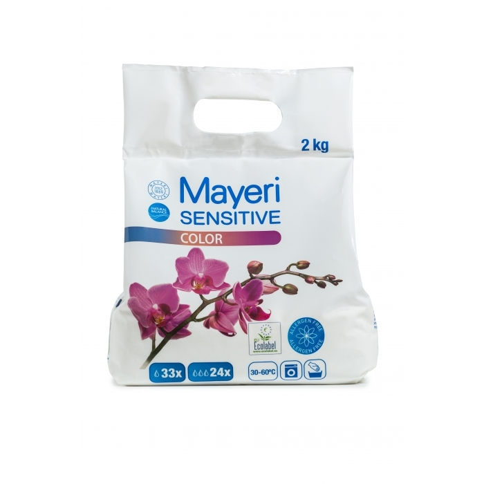 Pesupulber Mayeri Sensitive Color 8KG! (4x2kg)