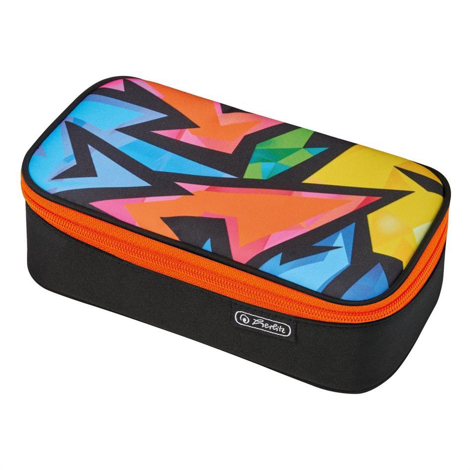 Herlitz pinal, kaanega - Neon Art Beat Box