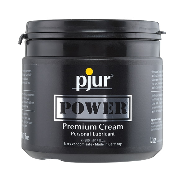 Pjur - Power Premium Cream Personal Lubricant 500 ml