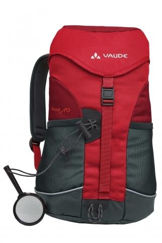 Puck 10 punane seljakott