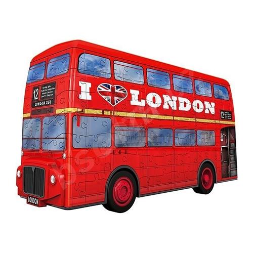 Ravensburger 3D pusle 216 tk London buss