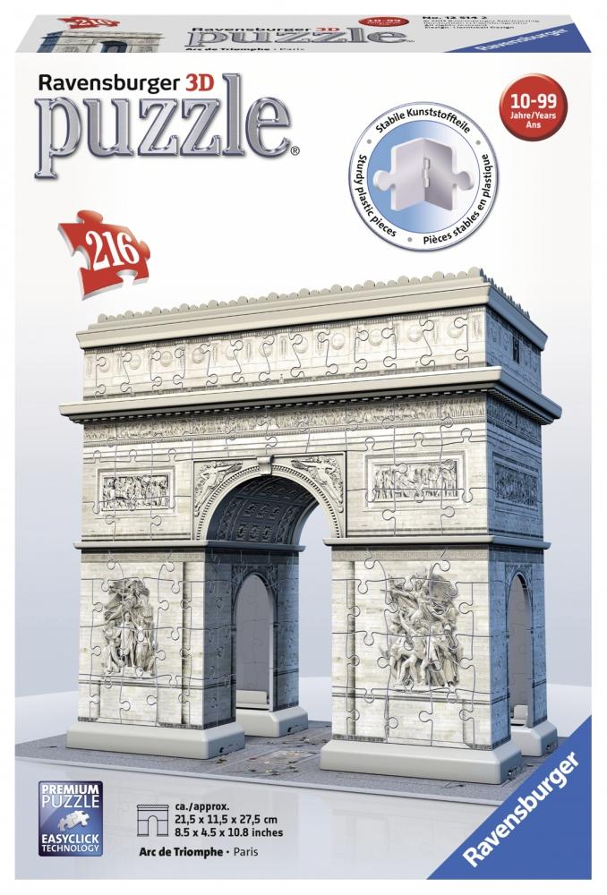 Ravensburger 3D pusle 216 tk Triumfikaar