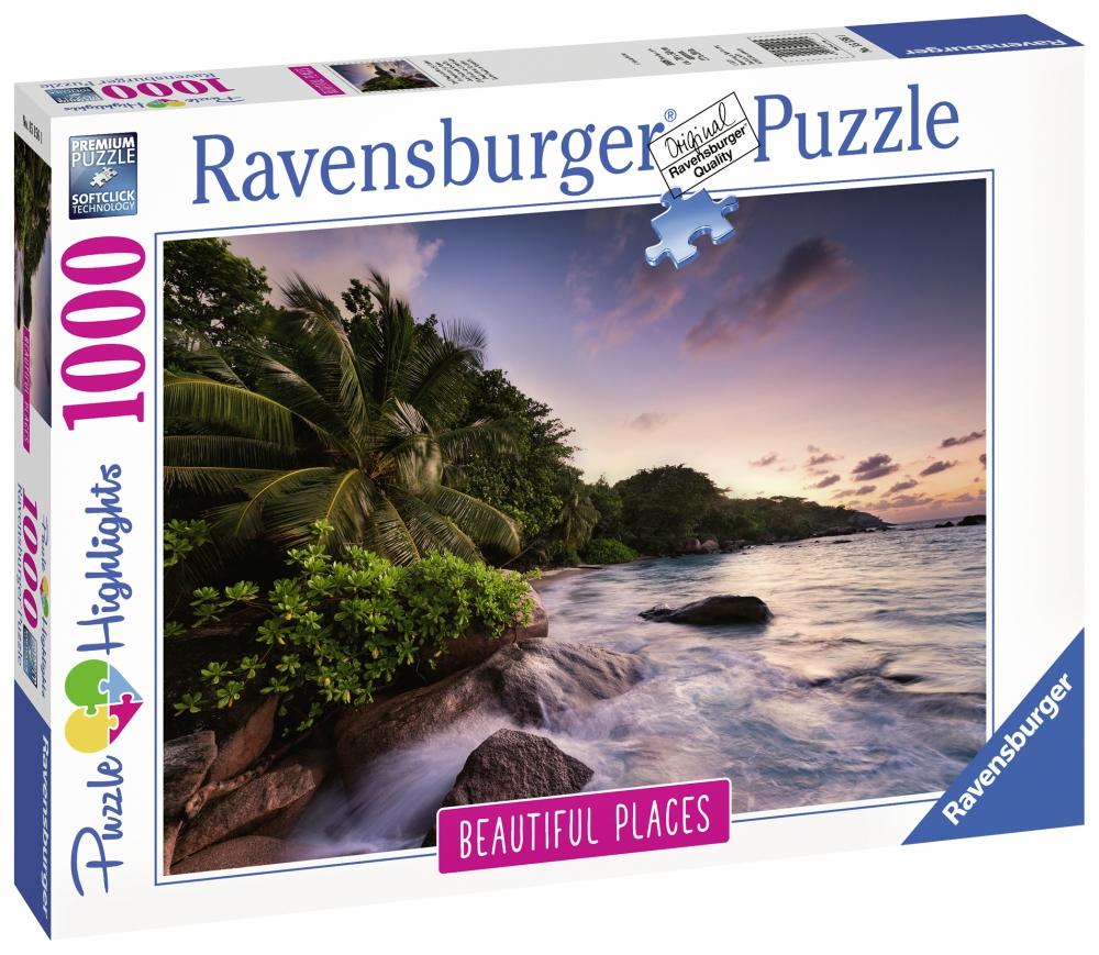 Ravensburger pusle 1000 tk Praslini saar