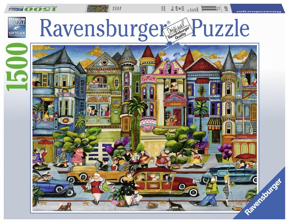 Ravensburger pusle 2000 tk Maalitud daamid
