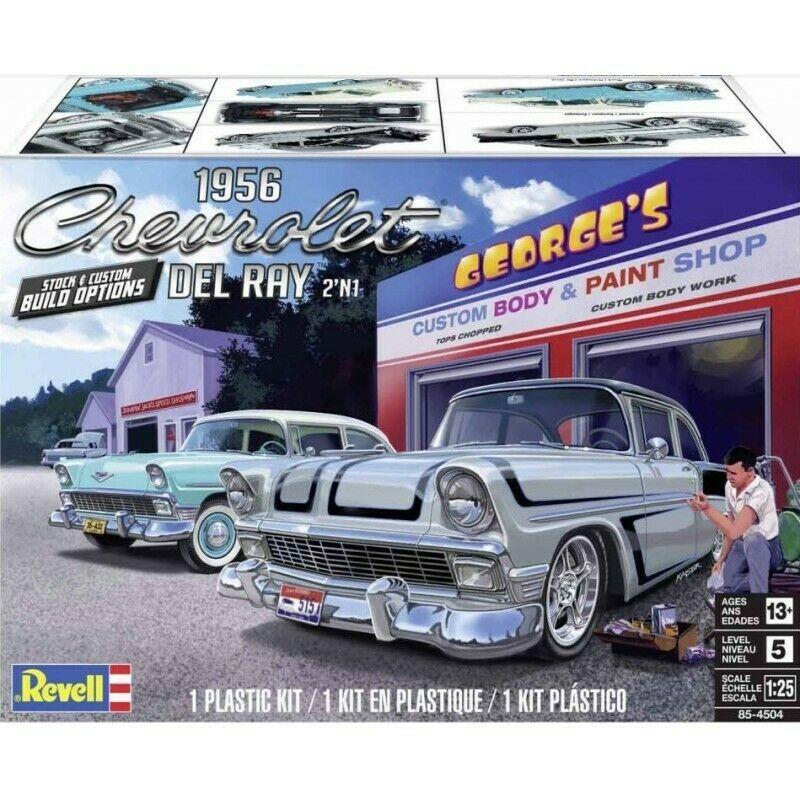 Revell liimitav mudel 1956 Chevy Del Ray,2´in1 1:25