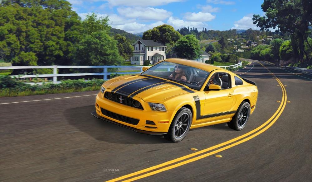 Revell 2013 Ford Mustang Boss 302 1:25