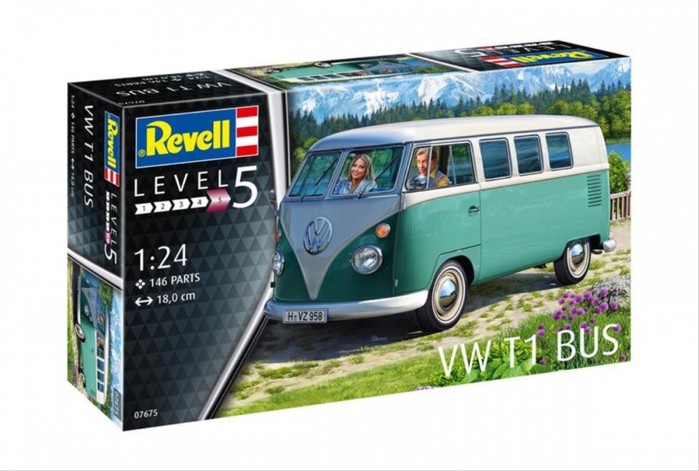 Revell liimitav mudel VW T1 1:24