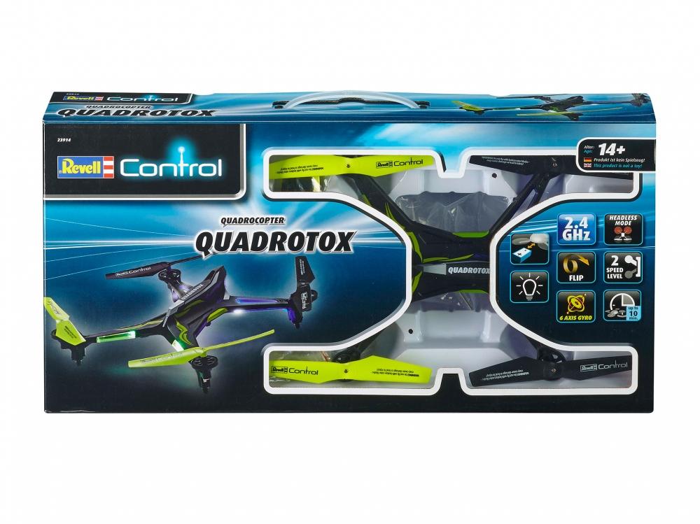 Revell Control droon Quadrotox, sinine