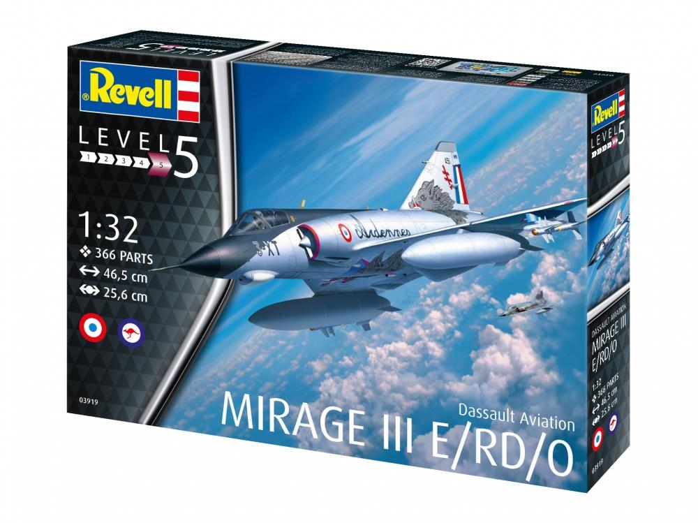 Revell Dassault Mirage III E 1:32