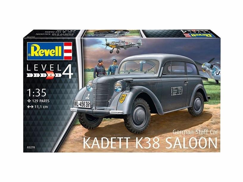 "Revell German Staff Car ""Kadett K38 Sal 1:35"