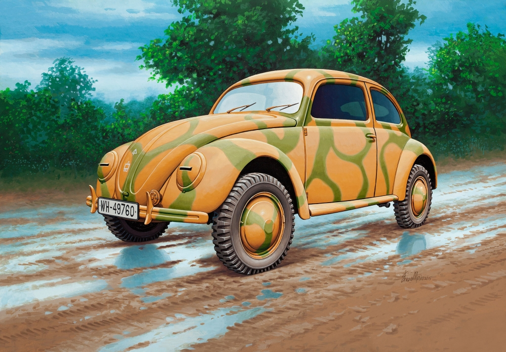 Revell German Staff Car Type 82E 1:35