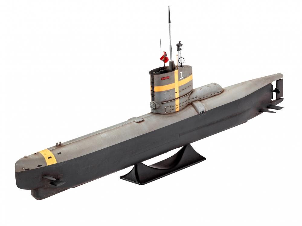 Revell German Submarine TYPE XXIII 1:144