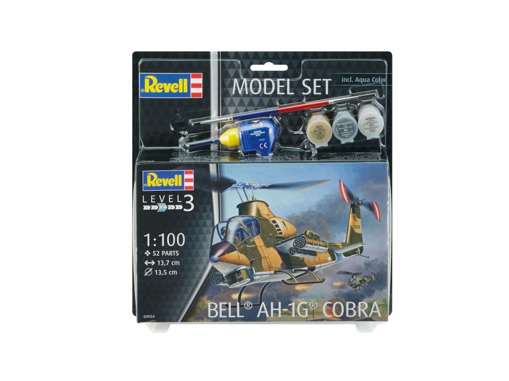 Revell mudelikomplekt Bell AH-1G Cobra 1:100