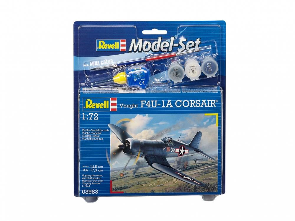 Revell mudelikomplekt Vought F4U-1D CORSAIR 1:72