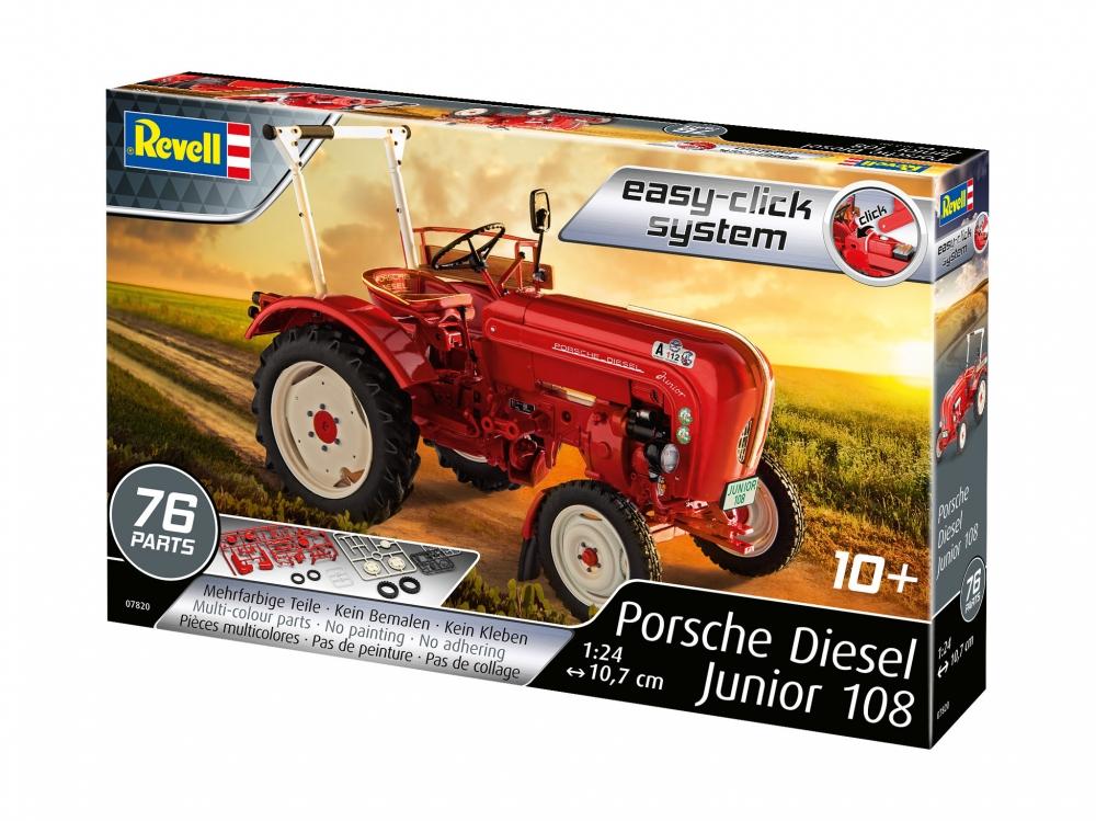 Revell Porsche Junior 108 1:24 Easy-Click