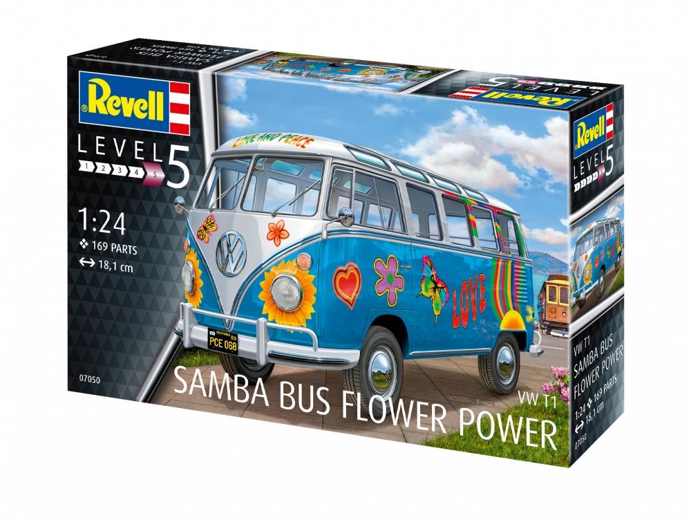"""Revell Samba T1 """"Flower Power"""" 1:24"""