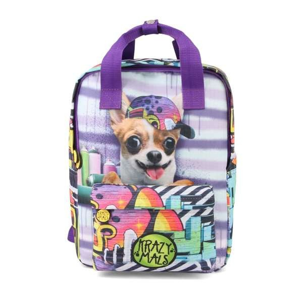 Seljakott Krazy Mals Dash Chihuahua (38 x 27 x 18 cm)