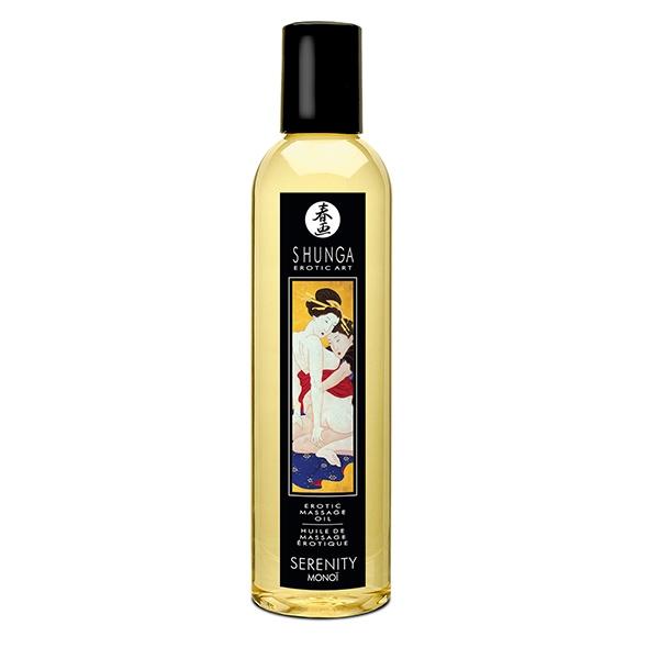 Shunga - Massage Oil Serenity Monoi