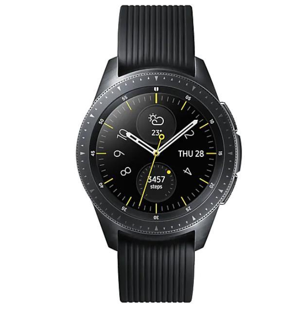 SMARTWATCH GALAXY WATCH R810/BLACK SM-R810NZKA SAMSUNG