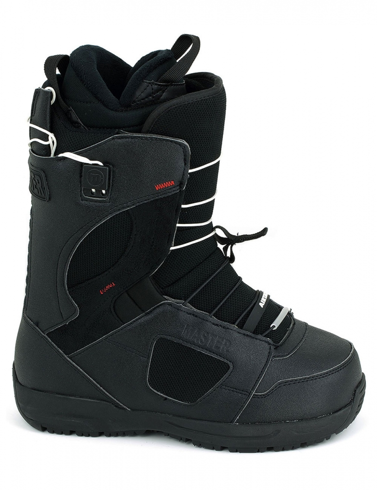 Snowboard Boots Savage Black Quick Lace