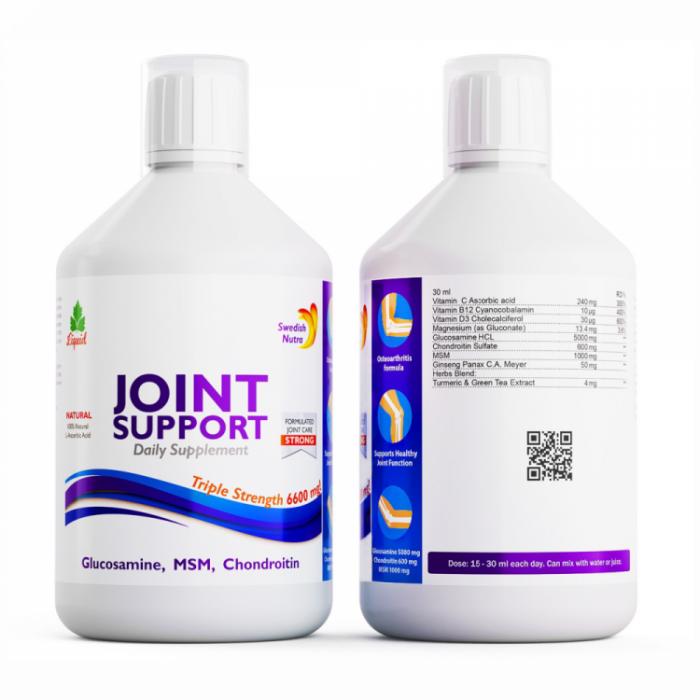 Swedish Nutra Joint Support Multivitamiin magusainega (500 ml)