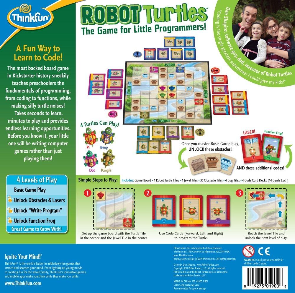 ThinkFun Robotkilpkonnad