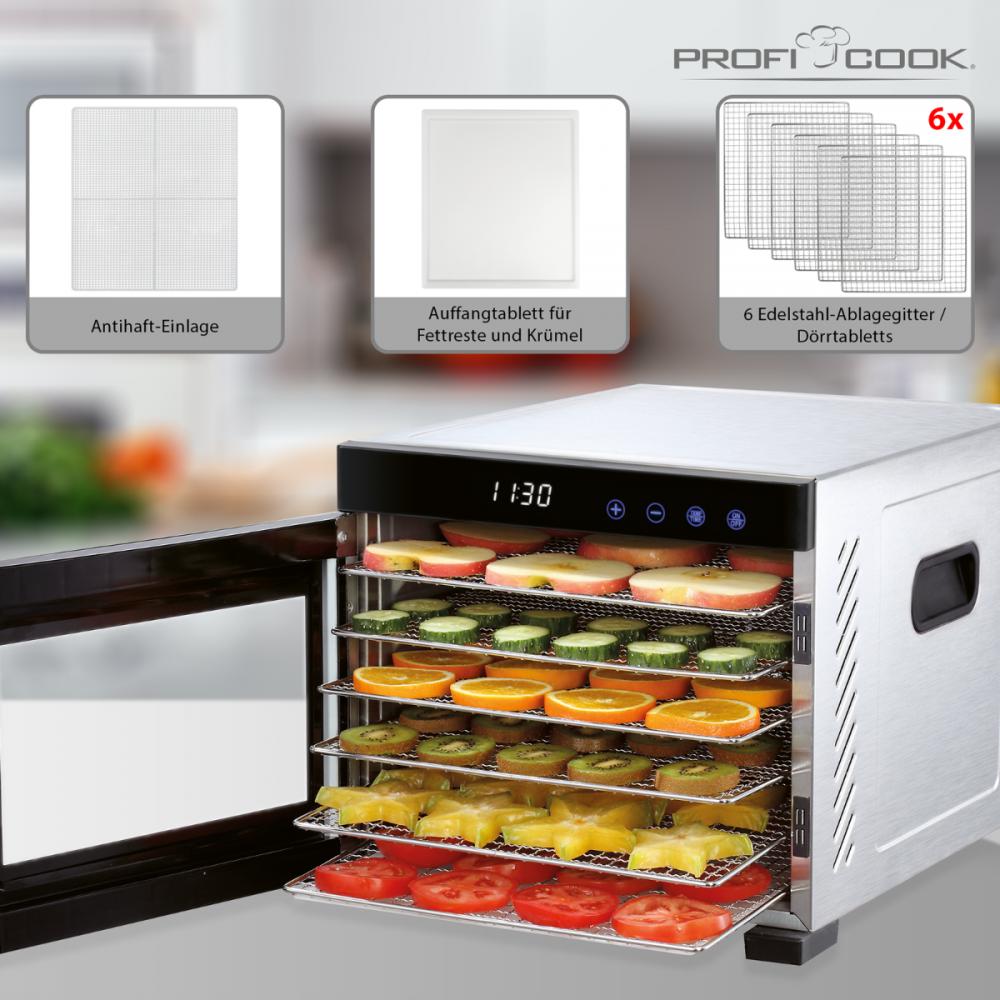 Toidukuivataja ProfiCook PCDR1218