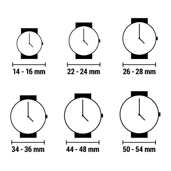 Unisex Kell naak 24-500 (38 mm)