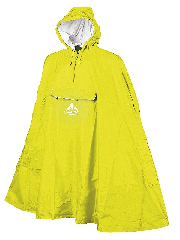 Valdipino Poncho kollane L vihmakeep