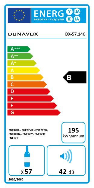 Veinikülmik Dunavox DX57.146DWK