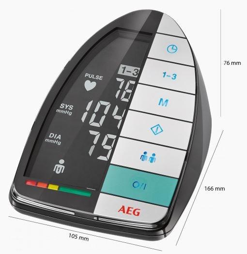 AEG BMG5677 õlavarre vererõhuaparaat