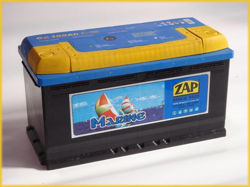 Zap (- + )  100 A-h  MARINE