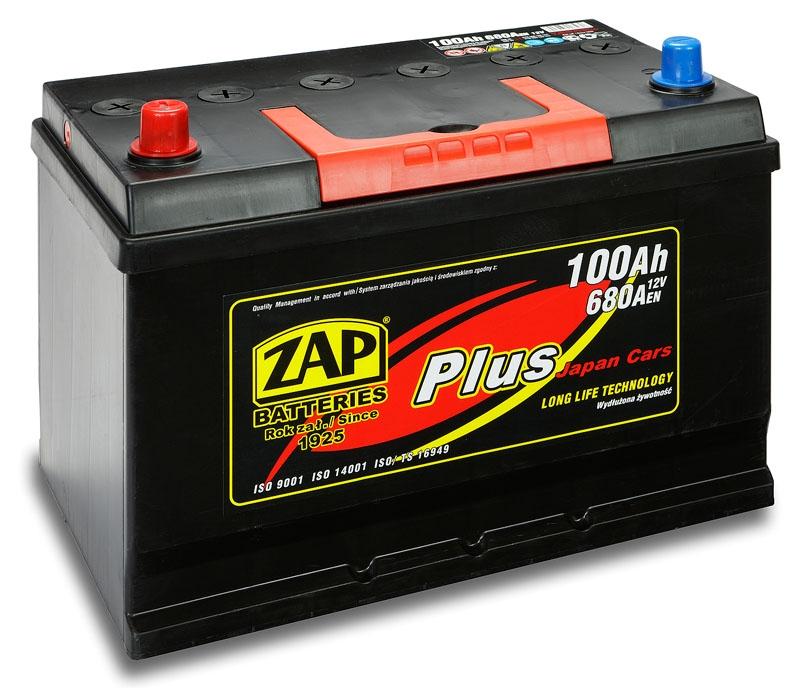 Zap (+ -)  100 A-h  Plus Japan Cars
