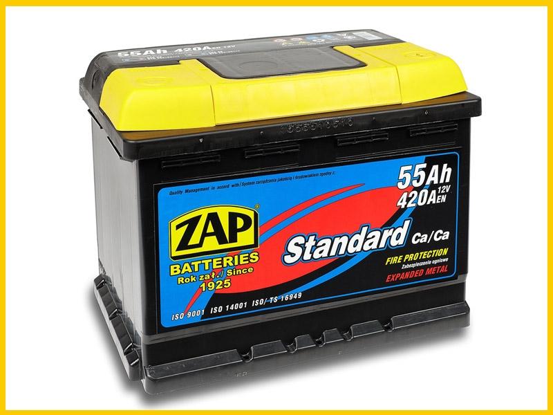 Zap (+ -)  55 A-h  Plus
