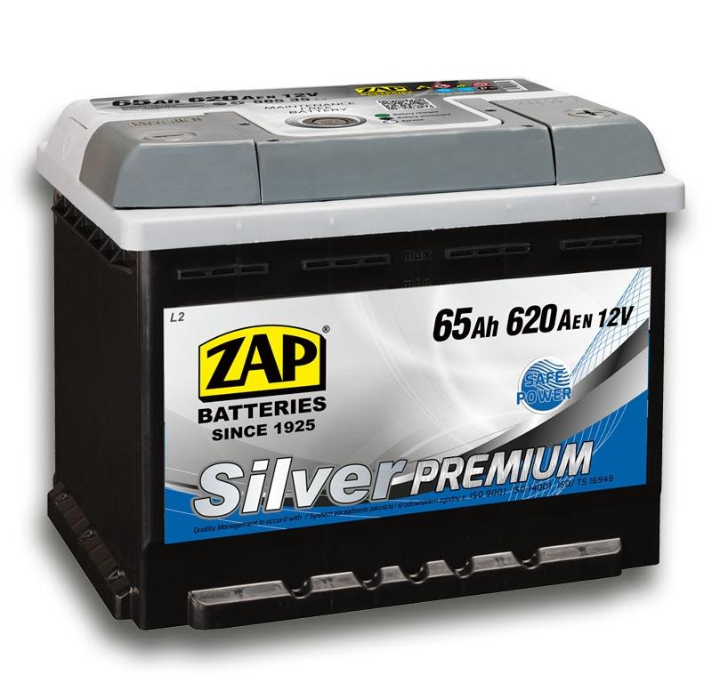 Zap (- +)  65 A-h  Silver Premium